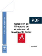 Convocatoria Seleccion DAMS SAAC 2015