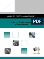 AGTM12 09 Guide to Traffic Management Part 12 Traffic Impacts of Developments