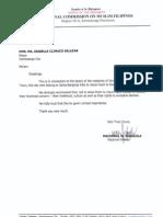 NCMFLetter to the Mayor of Zamboanga