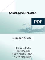 Efusi Pleura Ppt
