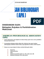 Penulisan Bibliografi APA[1]