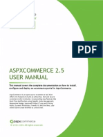 AspxCommerceV2.5 User Manual