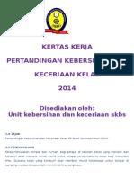 Kertas Kerja Pertandingan Keceriaan Kelas