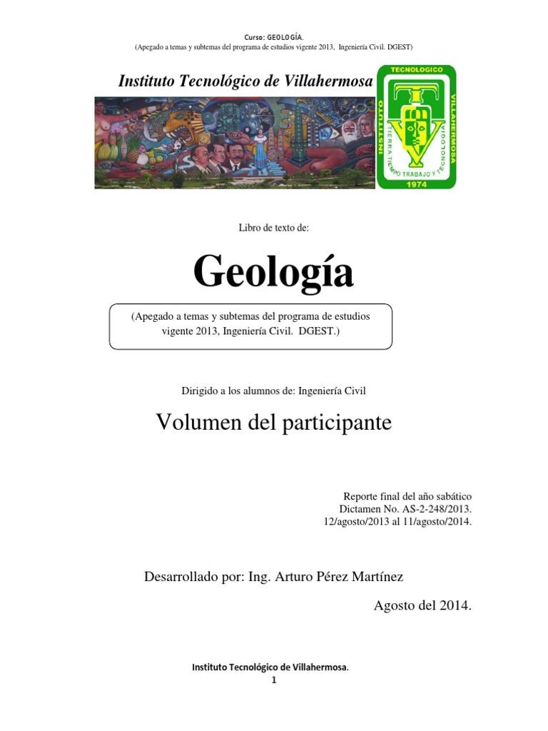 407f78d77 Libro de texto de: Geología