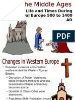 Introduction fo the Middle Ages