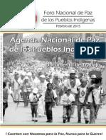 Agenda de Paz de Los Pueblos Indigenas