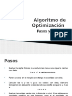 Algoritmo de Optimizacion (1)