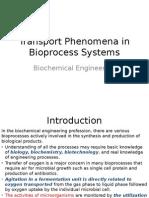 Transport Phenomena in Bioprocess Systems (1)