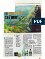 Recorte algas Faro de Vigo