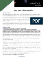 Refranes Sobre Astronomia