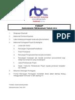 Format Rancangan Perniagaan RBC 2014