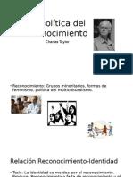 La Política Del Reconocimiento -Charles Taylor