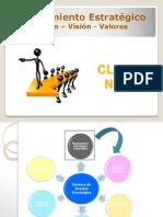 Planeamiento Estratégico - Misión, Visión y Valores