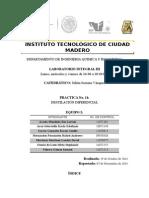 Práctica 11- Destilación Diferencial