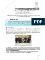 Programa para el desarrollo de la  tercera sesion del foro a desarrollarse en UES.pdf