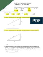 Math 95 Test 1 Review