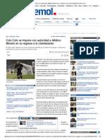 Colo Colo gana en segunda fase a Atl. Mineiro