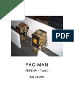 Pacman Robot