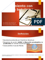 Ppt TX Toxina Botulinica2