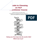 PDF Guide to Choosing an Nlp Practitioner Course 31 132