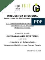 Multidimensionalidad - Inteligencia emocional
