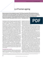 Biodemography of human ageing