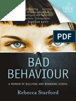 Rebecca Starford - Bad Behaviour (Extract)