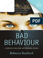 Rebecca Starford - Bad Behaviour (Extract)