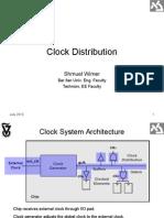 Clock Distribution