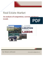 Indian Real Estate - Competitive Analysis - VikramJethwani