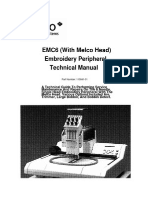 melco emc6 technical manual | Computer Keyboard | Electrical