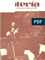 Revista Loteria de Panama 1984