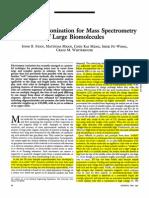 Fenn 1998 (Science) Electropspray