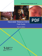 Neonatal Tetanus Elimination - Field Guide