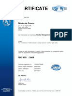 Nogales ISO Certificate