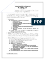 Estimation and Detection Project- MSc - Cairo university