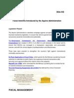 Fiscal Reforms of Aquino Administration