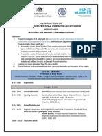 Regional Validation Forum on Gender and RCI - Final Program