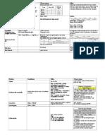 Procédure d'actions complémentaires Légendes (JDR)