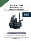3. Maintenance Manual_TD TSP 0004 2A