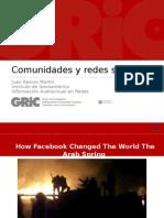 Presentación Comunidad y redes sociales