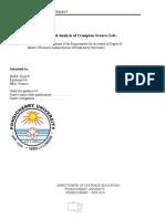 Financial Analysis of Crompton Greaves- r.priya