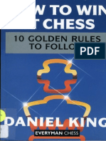 Daniel King - How to Win at Chess - 10 Golden Rules to Follow
