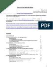 A Signal Analysis Primer for the MATLAB Naïve