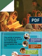 1st Quarter 2015 Lesson 8 Powerpoint Presentation