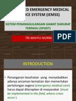 Integrated Emergency Medical Service System -Spgdt Rev Shangrila 2014