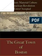 Military - American War for Independence - A Town Occupied