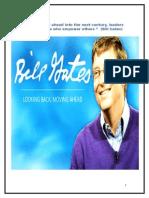 Bill Gates Report