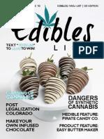 Edibles List Magazine February 2015 - Colorado Edition