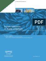 Forum Selection in Trade Litigation